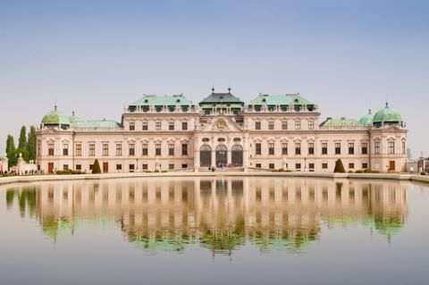 palace visit in austria