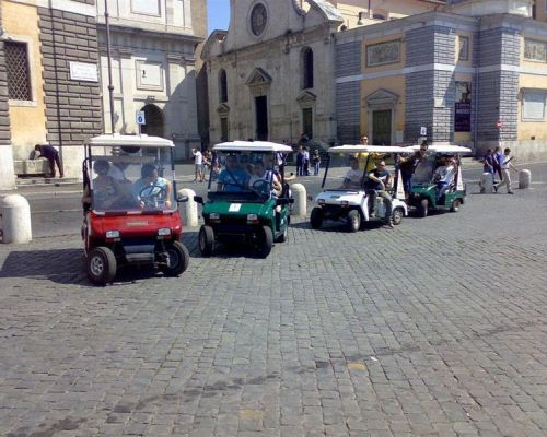 florence by golf carts great teambuilding event