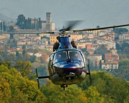 great helicopter tour over s gimignano