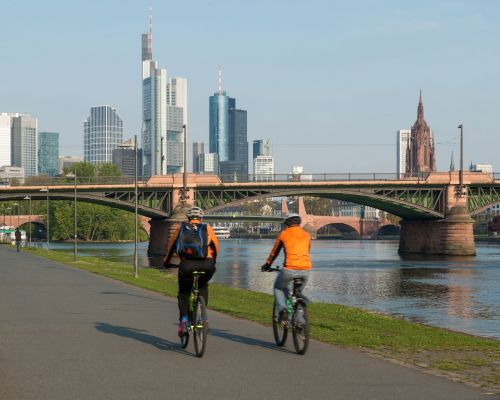 Frankfurt cycling team building