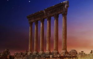Lebanon visting baalbek program idea