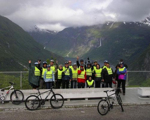 event biking in the fjords