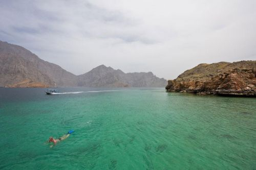 diving in oman program idea