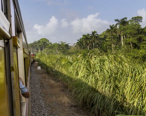 event idea panama by train