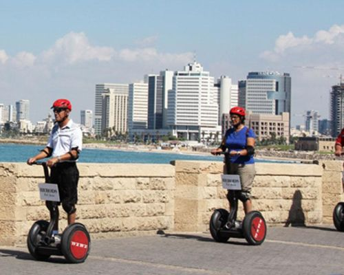 dmc tel aviv incentive on segway