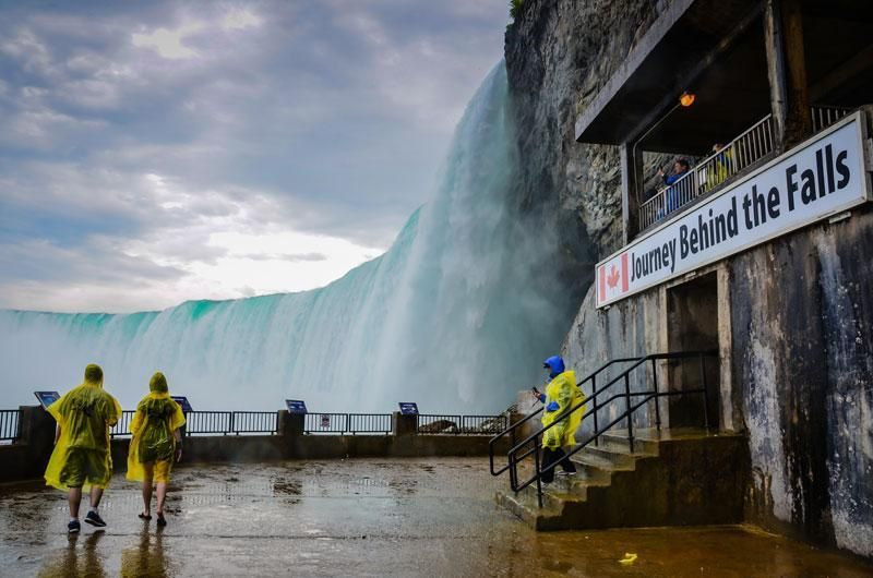 program idea Niagara Falls journey behind the falls