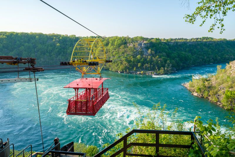 program idea Niagara Falls cable car