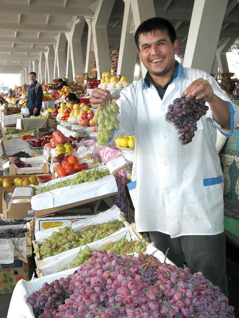 program idea uzbekistan fruit market