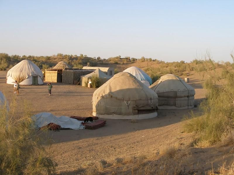 program idea uzbekistan staying at a yurt