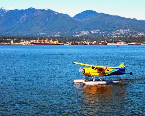incentive dmc vancouver by private float plane