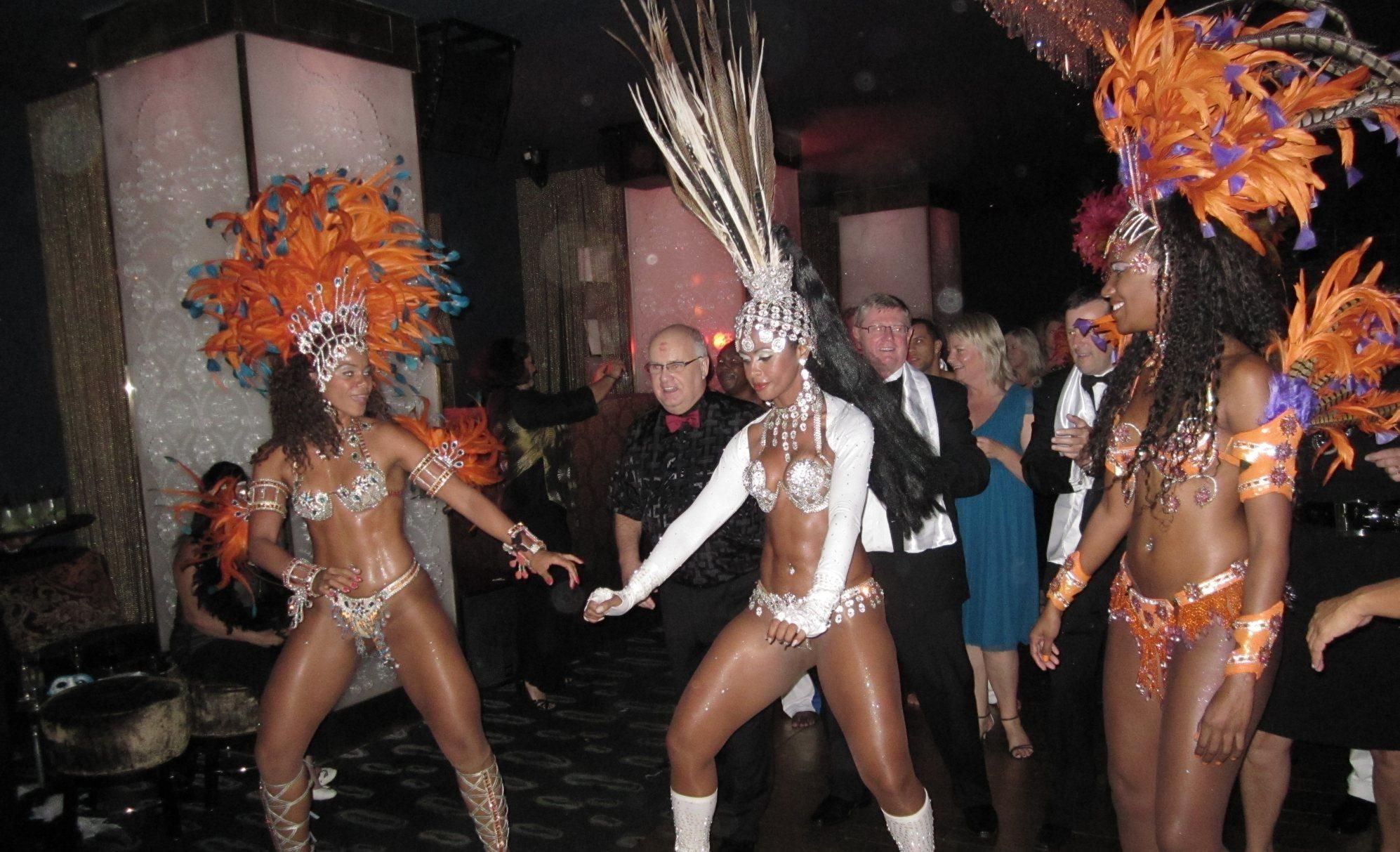 Program idea Brazil Carnival Party Copa Palace