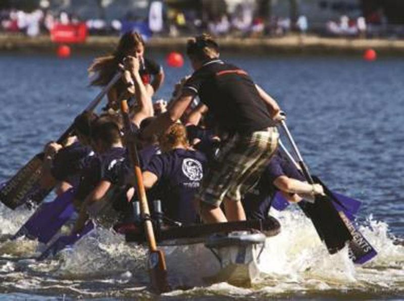 Program idea Hamburg dragon boat race