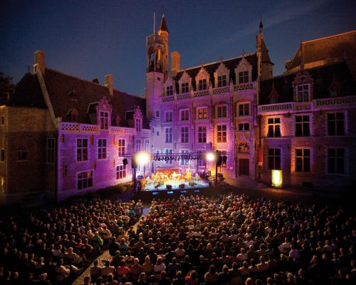 Organising an event in Belgium Concert