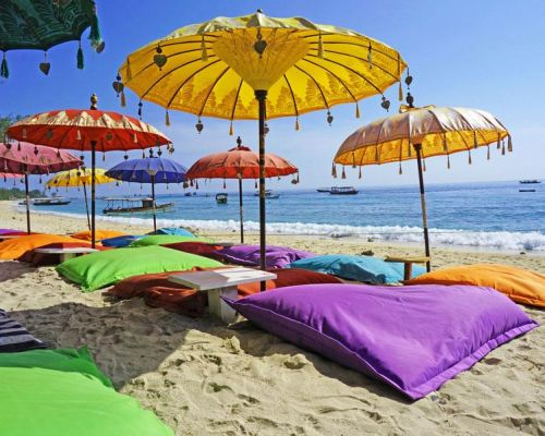 program idea bali white sand beaches