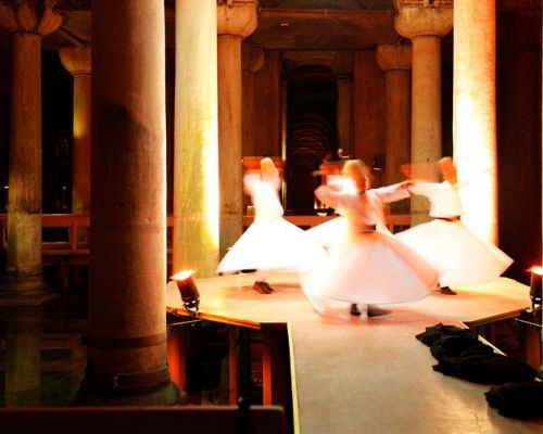 istanbul-Underground-Cistern-Whirling-Dervish-performance incentive