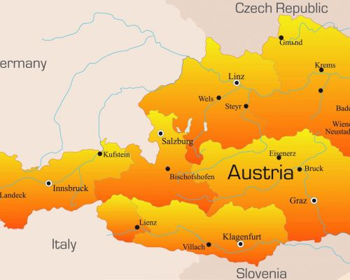 map austria by DMC Austria