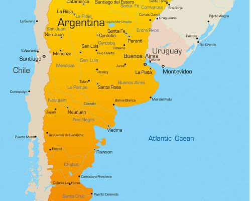 map argentina by dmc argentina