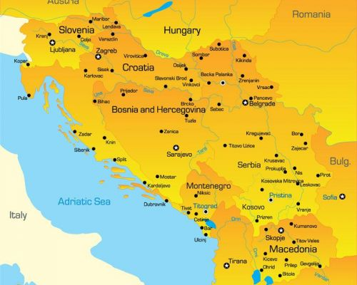 map bosnia-herzegovina by DMC Bosnia