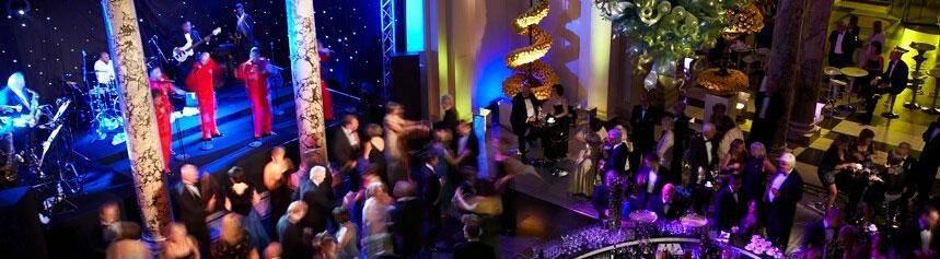 Stunning gala dinner setting in London
